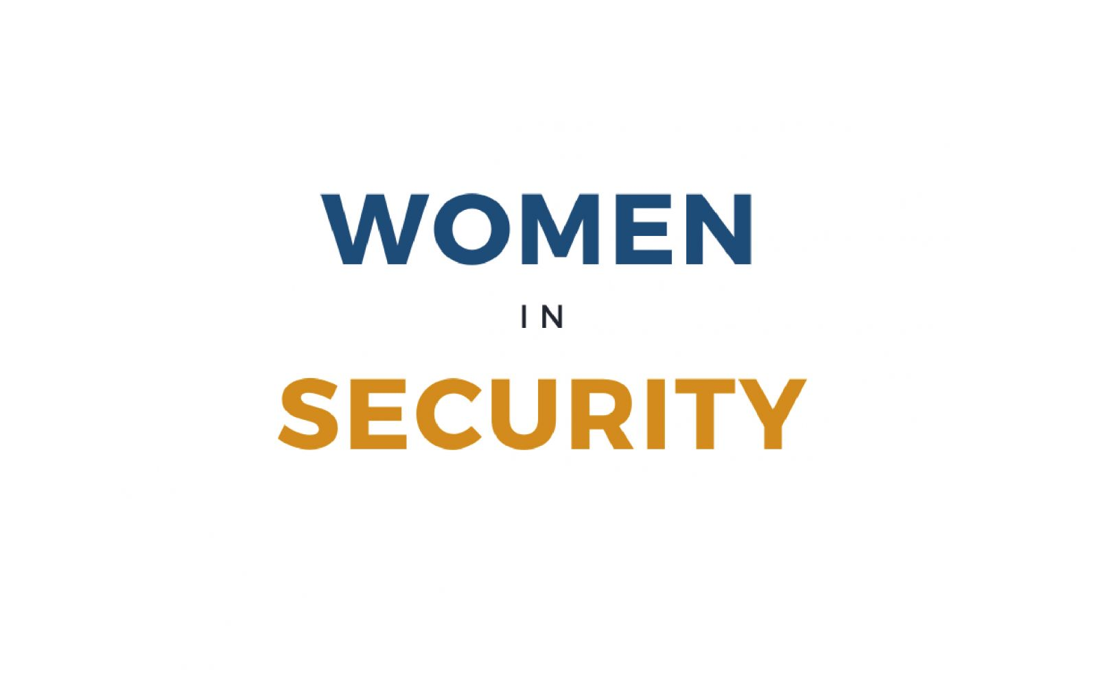 New Industry Research: Women in Security