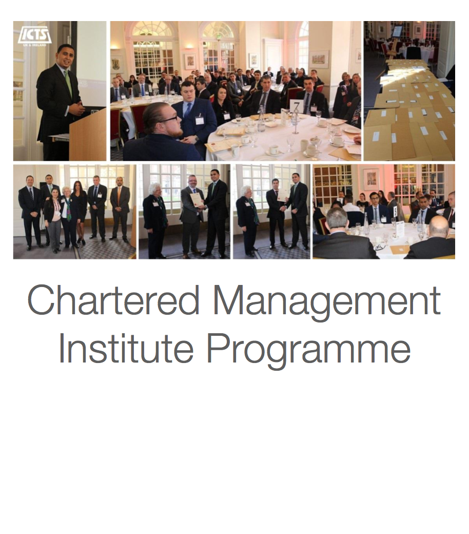 ICTS UK & Ireland Chartered Management Institute (CMI) Programme